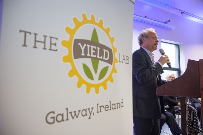 Agri Tech Conference at The Portershed, Galway, IRL. Photograph by David Ruffles